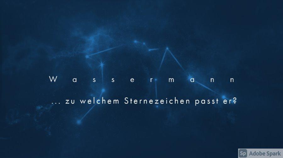 Wassermann ...zu welchen Sternzeichen passt er?